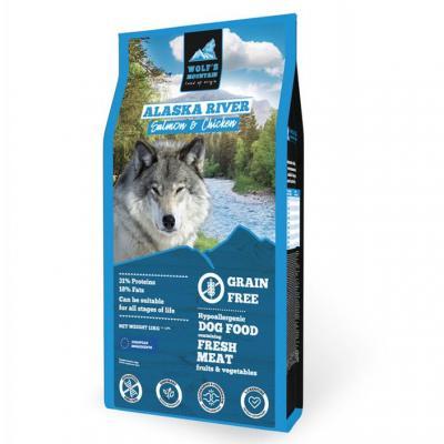 Wolf's Moutain Alaska River